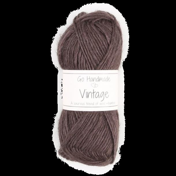 Vintage - Mørkebrun