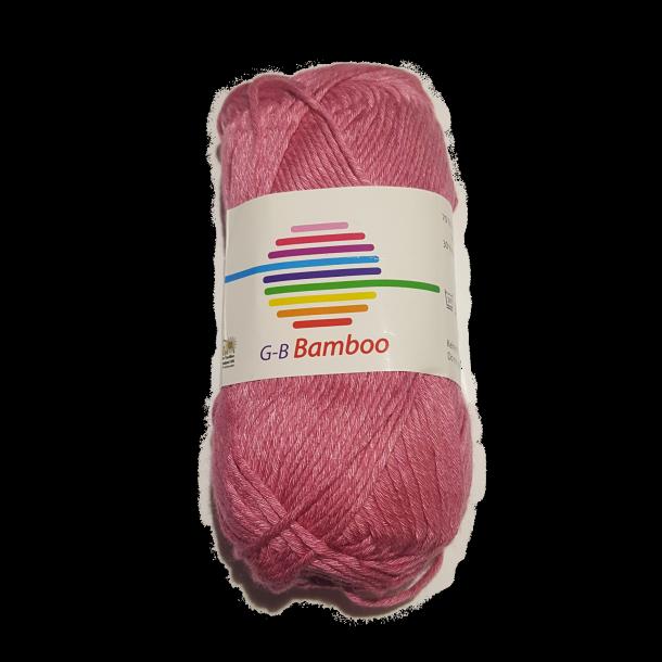 Bamboo - Mørk rosa