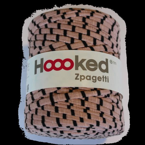 Hoooked zpagetti - Nude/sort