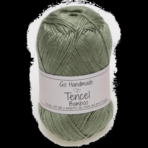 Tencel - Støvet grøn