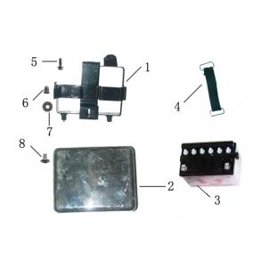 Batteri-holder