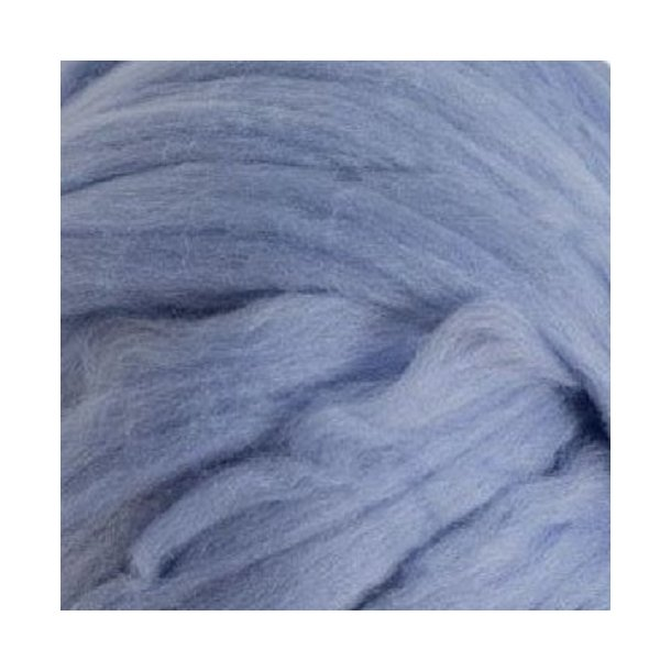 Mega Chunky Merino uld - Lysblå