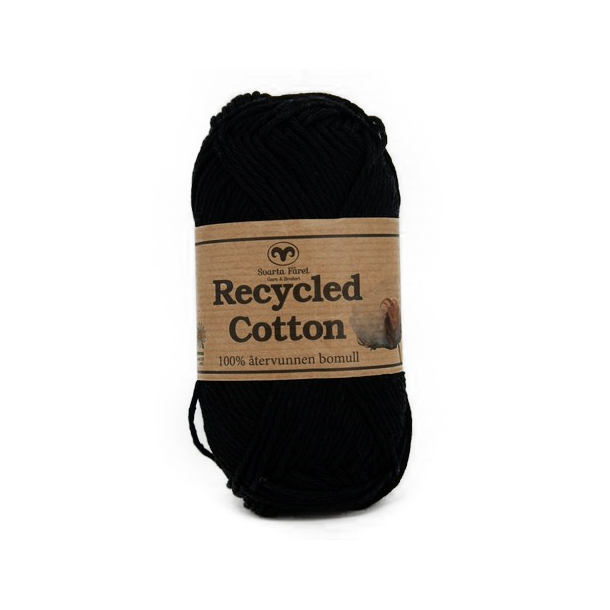 Recycled Cotton - Sort
