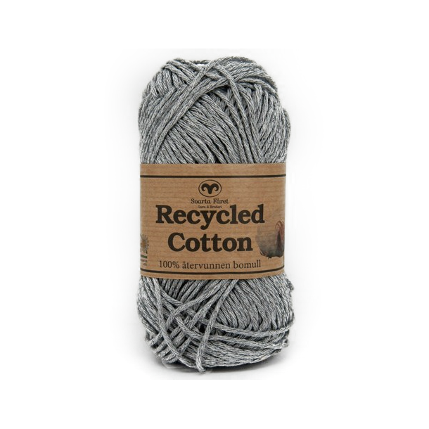 Recycled Cotton - Lys grå