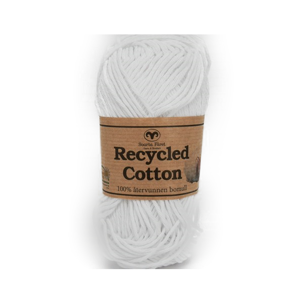Recycled Cotton - Hvid