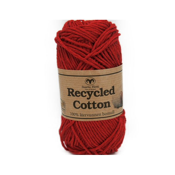 Recycled Cotton - Rød