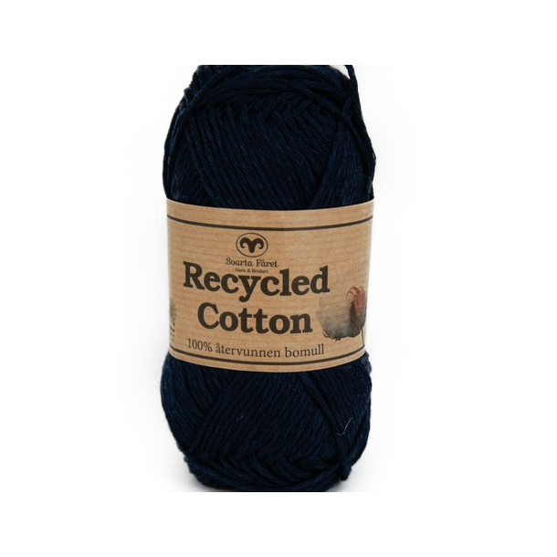 Recycled Cotton - Marineblå