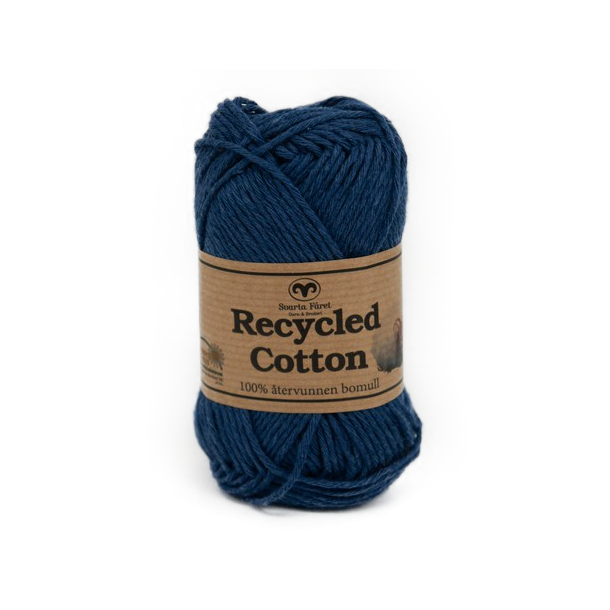 Recycled Cotton - Mørkeblå